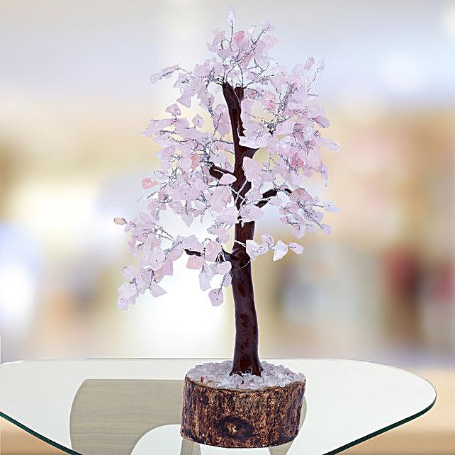 Rose Quartz Wish Tree
