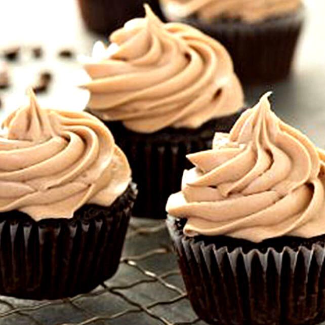 Rich Espresso Cupcakes