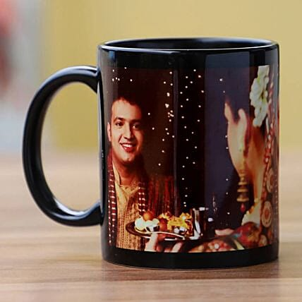Now & Forever Personalised Mug:Send Karwa Chauth Gifts to Singapore