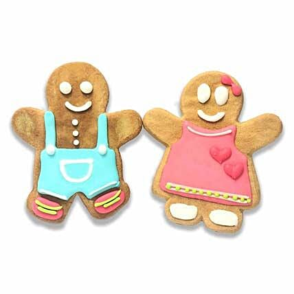 Boy & Girl Gingerbread Cookies For Christmas