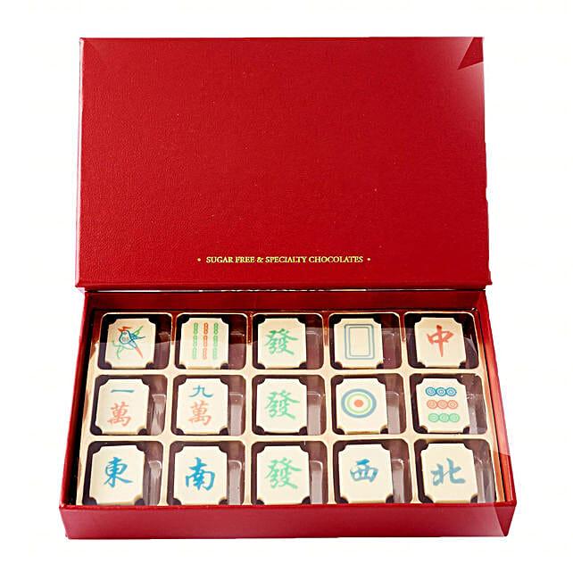 Sugar Less Mahjong Chocolate Bar