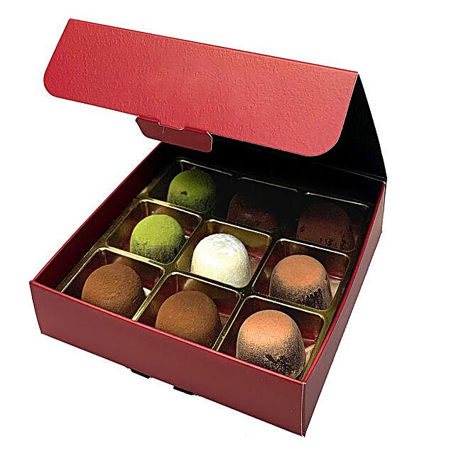 No Sugar Chocolate Truffle Box- 9 Pcs