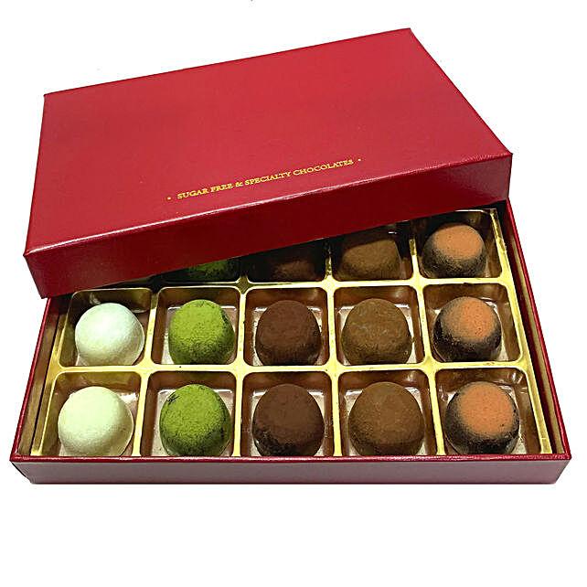 No Sugar Chocolate Truffle Box- 15 Pcs