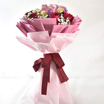 Simply Perfect Chocolatey Flower Bouquet