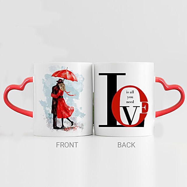 Love Is All I Need Printed Mug