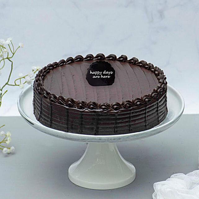 Retirement Chocolate Fudge Cake