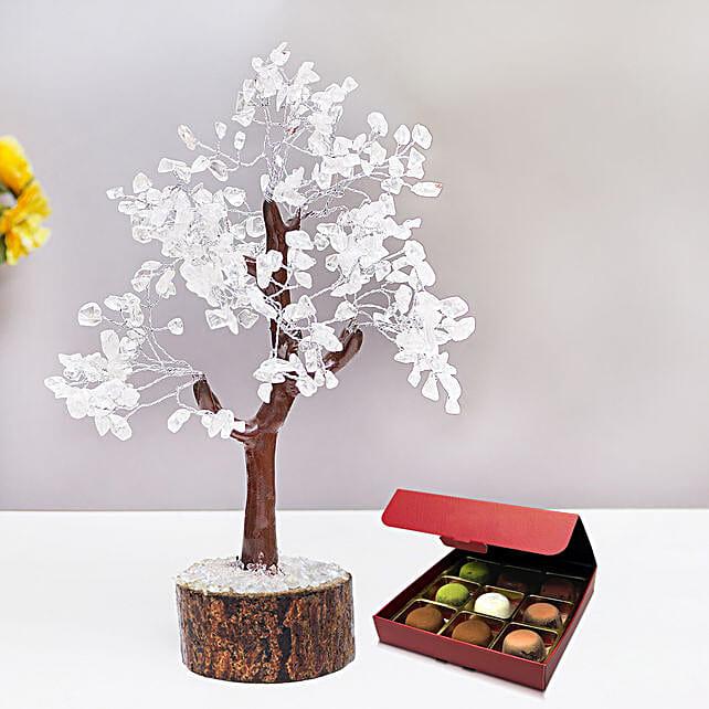 Amethyst Wish Tree with No Sugar Chocolate