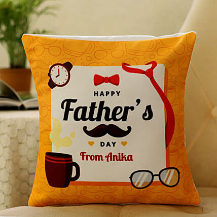Personalised Cushion For Father