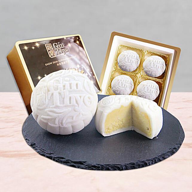 Premium Snowskin White Mooncake