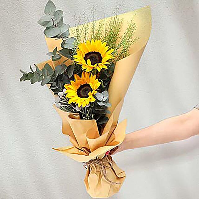 Bouquet Of Sunshine:Send Flowers to Singapore