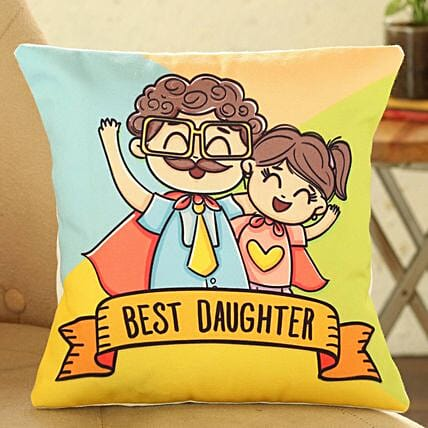 Best Daughter Cushion:Send Daughters Day Gifts to Singapore