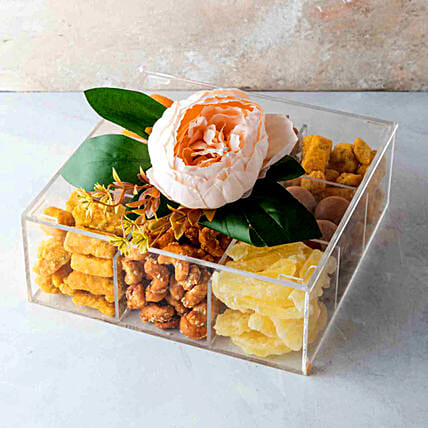 Sweet Festive Treat Box:Diwali Gift Delivery in Singapore