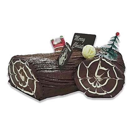 Who Cut Down The Christmas Tree Fudge Cake:Christmas Gift Delivery Singapore