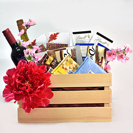 Wine & Chocolate New Year Special Box