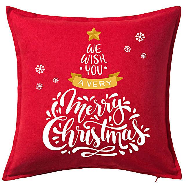 Xmas Greetings Cushion Mug