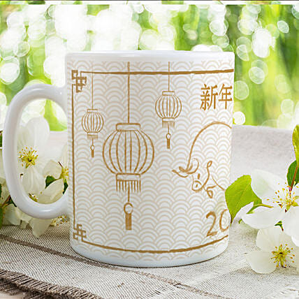 Year Of Ox Printed Mug
