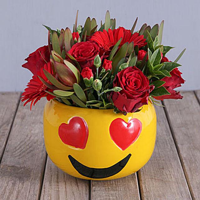 Emoji Pot Roses