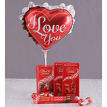 Lindt I Love You Gift Combo