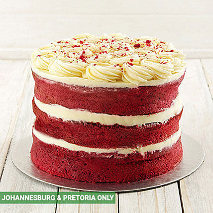 Red Velvet Naked Cake:Send Gifts to South Africa