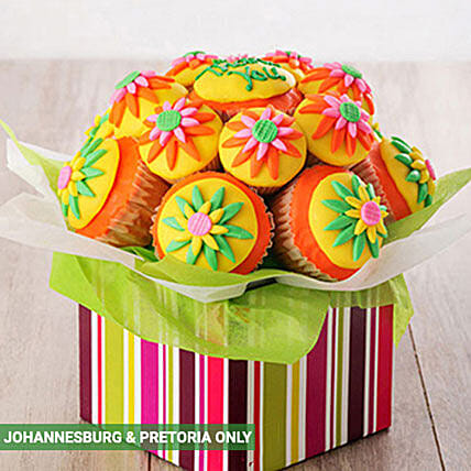 Thank You Cupcake Bouquet:Birthday Cake Delivery in South Africa