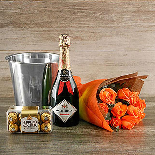 Orange Passion Gift Of Romance