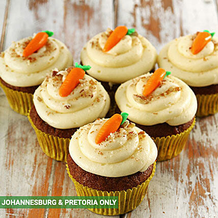 Carrot and Pecan Nut Cupcakes:Send Corporate Gifts to South Africa