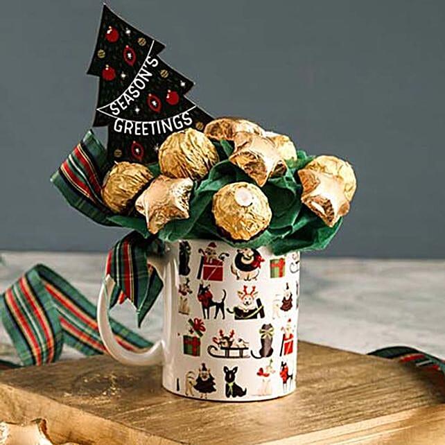 Ferrero Rocher Christmas Mug