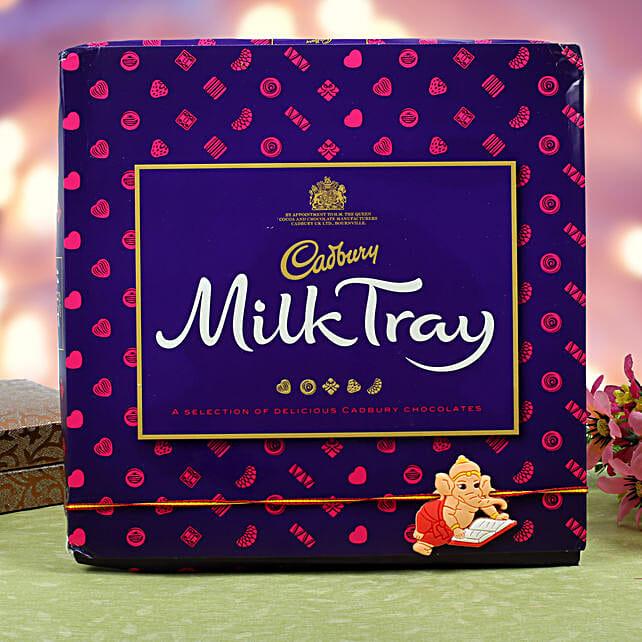Kids Rakhi Cadbury Milk Chocolate Hamper