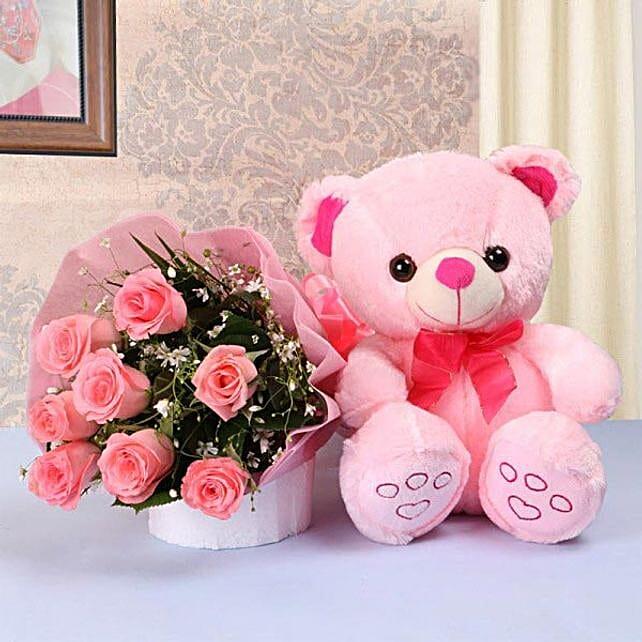 Pink Perfection Combo:Gifts to Sri-Lanka