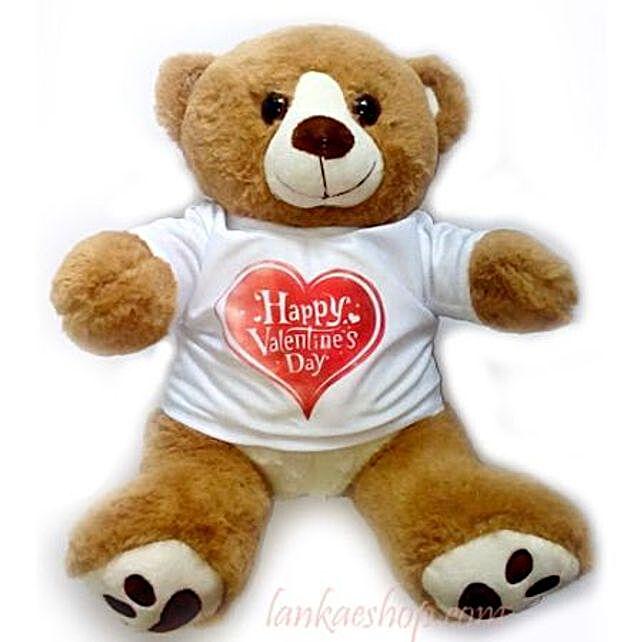 Valentine Wishes Teddy