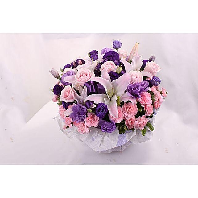 Blissful Mixed Flowers Arrangement