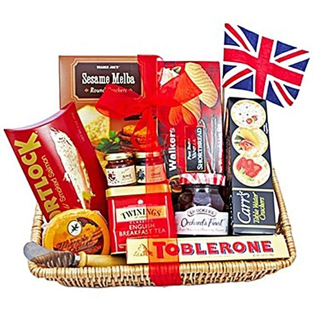 Gourmet Snack Gift Basket