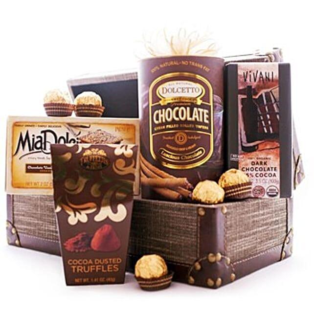 Greetings With Chocolates