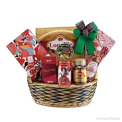 Basket Of Tempting Delight:Corporate Hampers to Thailand