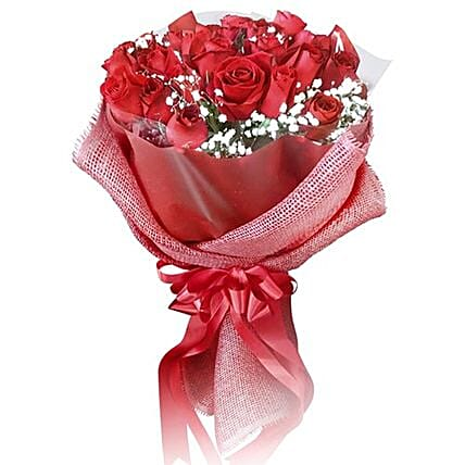 Expressions Of Love Red Rose Bouquet