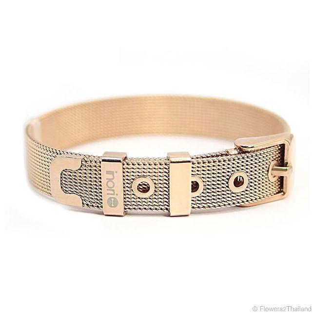 Rose Gold Stainless Steel Bracelet
