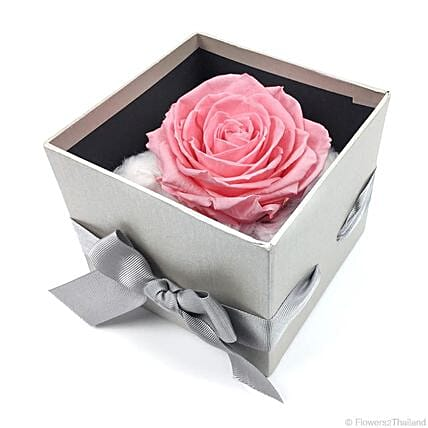 Touch Of Romance Pink Rose Box