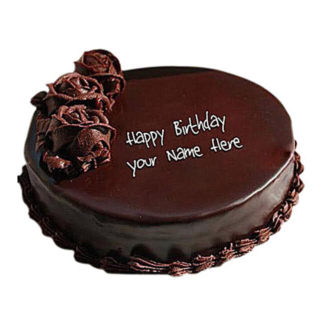 1 Kg Floral Design Chocolate Cake