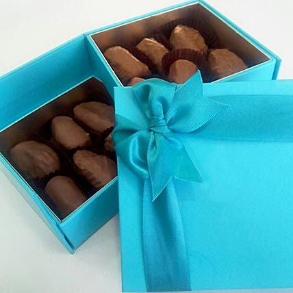 12 Pcs Chocolate Covered Dates