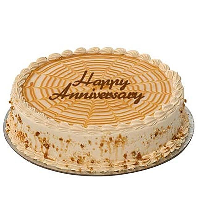 1Kg Butterscotch Anniversary Cake