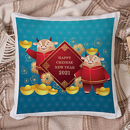 2021 Year of The Ox Cushion