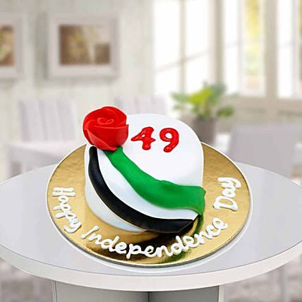 49th National Day Mono Cake