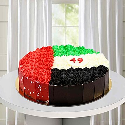 49th UAE Flag Cake:Send National Gifts to UAE