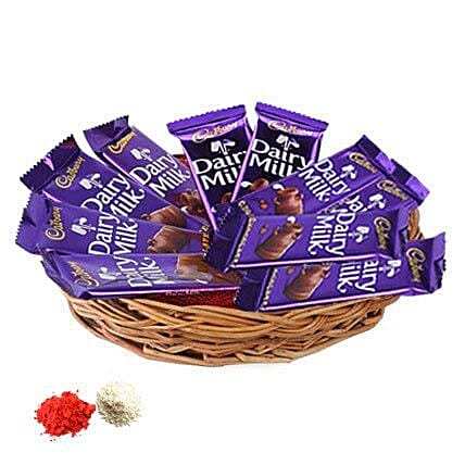 Basket of Dairy Milk--UAE