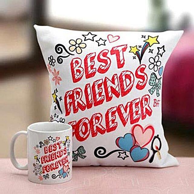 Best Friends Mug N Cushion