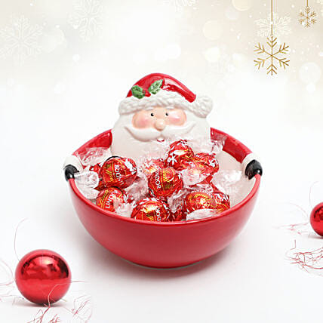 Bowl Of Lindt Chooclates