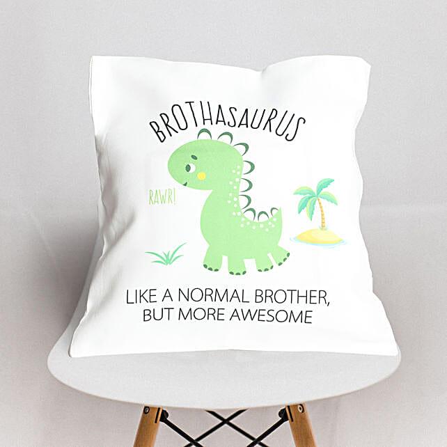 Brothasaurus Cushion