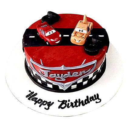 Cars movie Cake