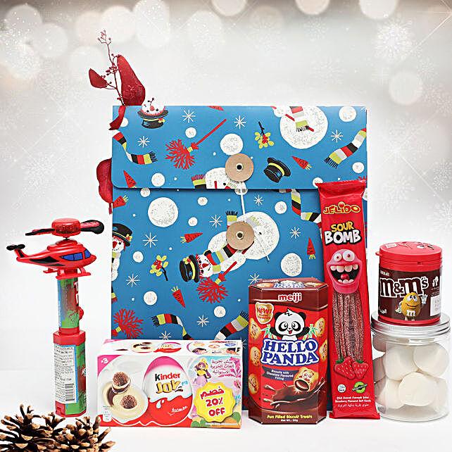 Cheerful Secret Santa For Boys