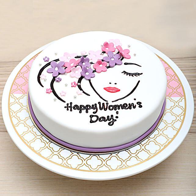 Chocolate Womens Day Cake